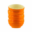 orange ceramic bowls