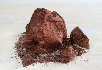 cioccolato grezzo