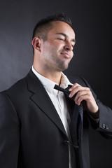 Junger attraktiver Geschäftsmann