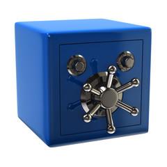 Blue security safe