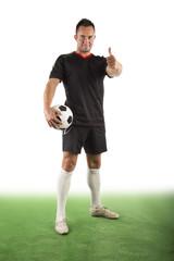 Fußballer, freigestellt