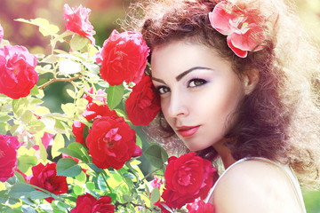 red roses fashion