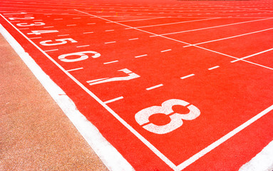 Start Running track Number 8