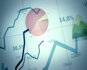биржевой  график