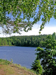 View on lake Ladoga