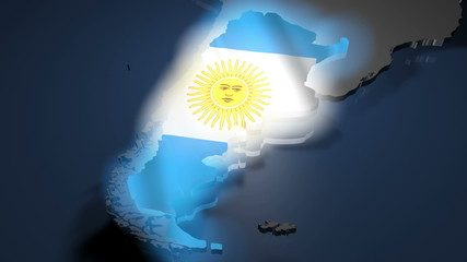Argentina Earth Zoom
