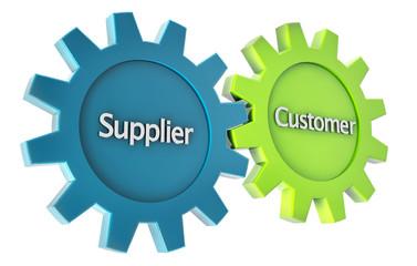 supplier and customer bond