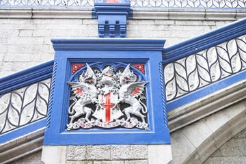 Detail of Tower Bridge London