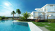 Luxury house with a tropical garden and pool - 65729840