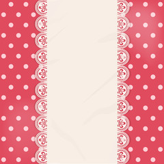 lace centre panel border background