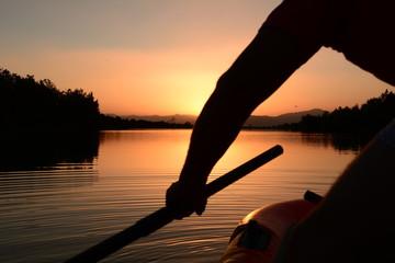 gölette bot ile gezi hazırlığı
