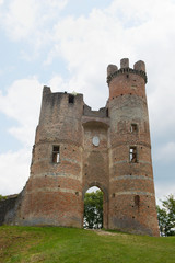 Tower of French ruin