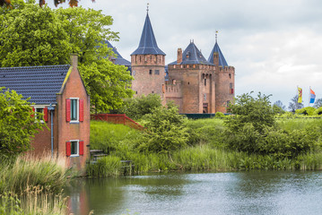 Muiden castle in Netherlands