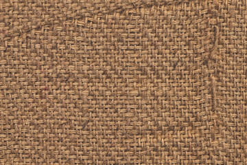 Burlap Canvas Crumpled Grunge Texture Sample