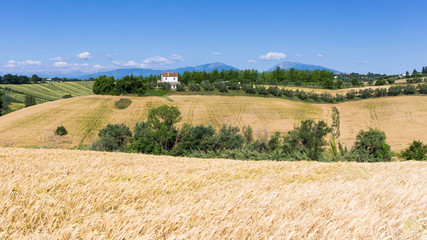 the hills of Abruzzo