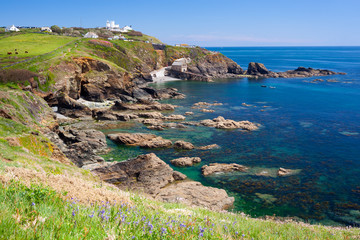 Lizard Point Cornwall England UK