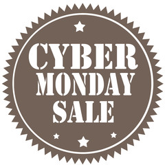 Cyber Monday Sale-label