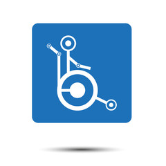 disabled person in wheelchair