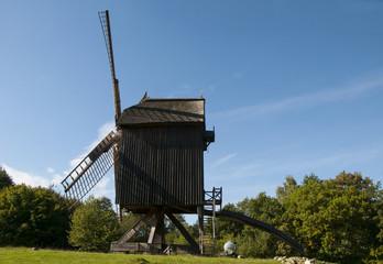 Wind mill sideways