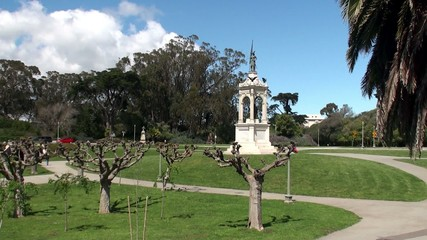 Types of Golden Gate Park.