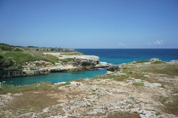 Vista della costa di Otranto - Salento