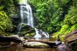 Leinwanddruck Bild - Upper Catabwa Falls