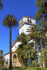Court House Building Santa Barbara California