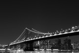 Manhattan Bridge and  Skyline , New York City