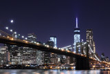 Brooklyn Bridge and Manhattan Skyline , New York City