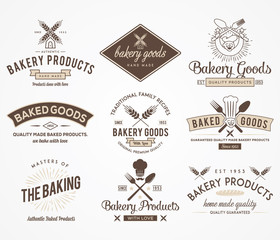 Bakery goods colored