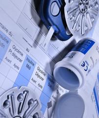 matériel médical pour diabétique