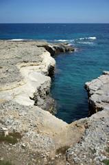 Insenatura tra le rocce - Otranto