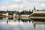 View of the Pskov Kremlin= poster