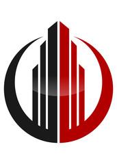 Logo Real Estate with circle