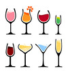 set of wine glass - 65748215