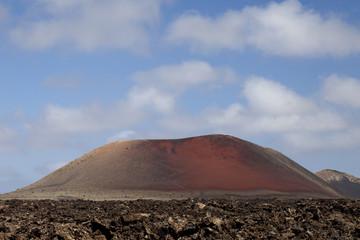 Volcanic field.Lava.Tenerife.Canary Islands.