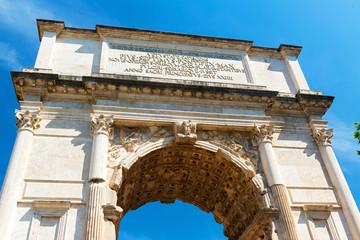 The Arch of Titus in Roman Forum, Rome