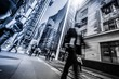 canvas print picture - London Business Architecture