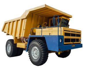 Heavy mining dumper