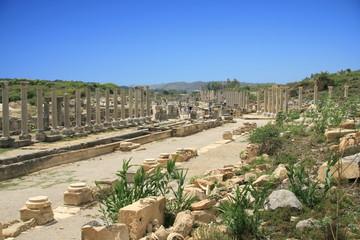 Vestiges romains de Perge en Turquie