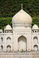 Model simulation of Taj Mahal.