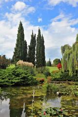 Fabulously beautiful Italian garden Sigurta.