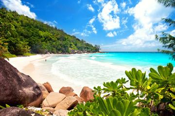 Anse Georgette - Seychellen, tropischer Strand