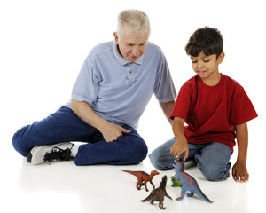 Grandpa, Dinosaurs and Me