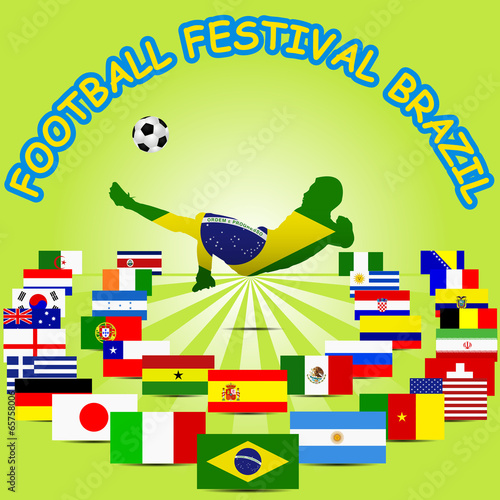 World football tournament partisipants, Brazil