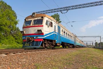 Suburban electric train