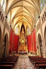 Interior del santuario de Virgen de Regla, Chipiona, España
