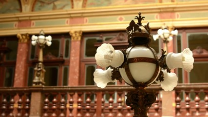 lighting(lamp) - a historic building (interior)