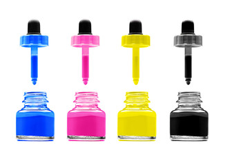 CMYK - Magenta, cyan, yellow and black