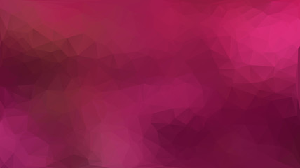 Pink abstract polygon triangle background
